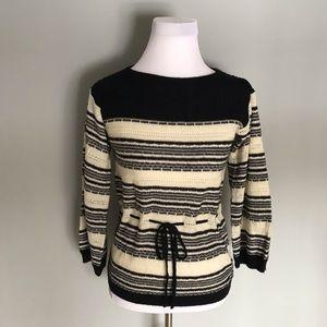 Vintage duet creations drawstring waist sweater